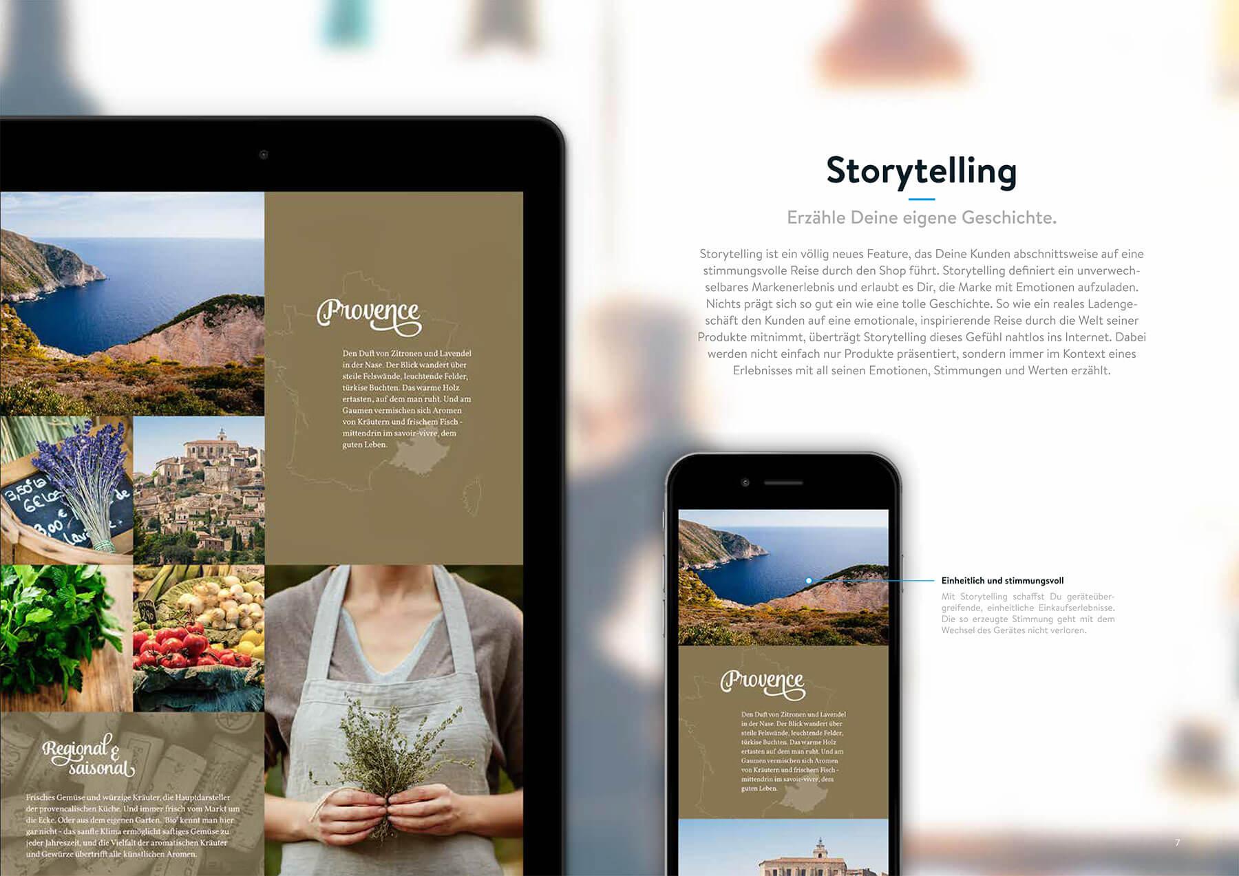 Shopware 5 Storytelling