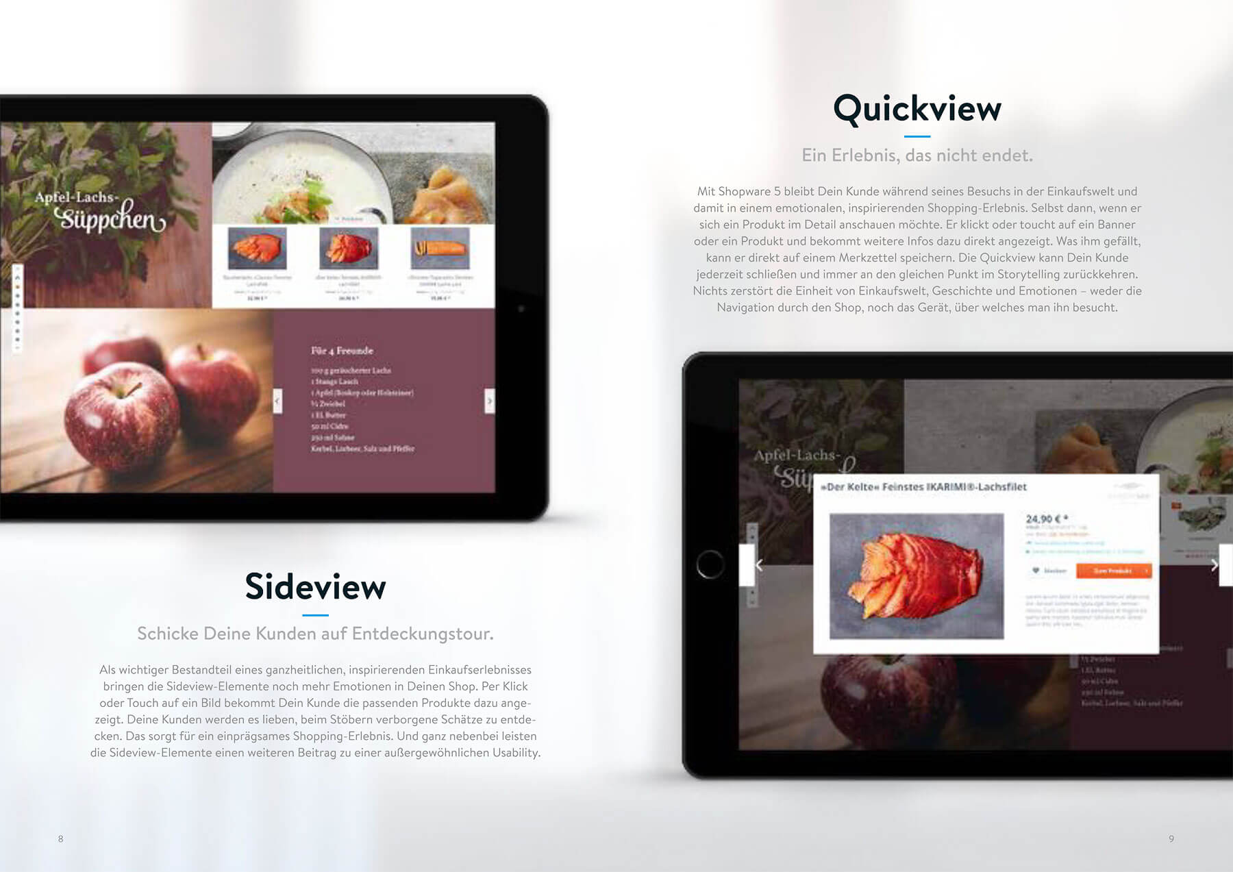 Shopware Sideview & Quickview