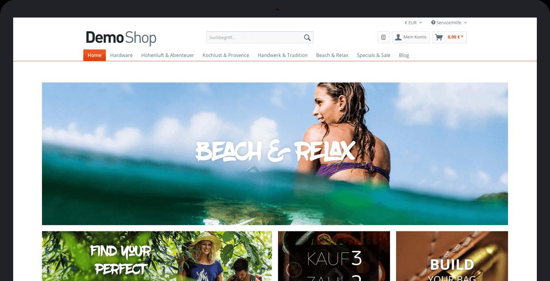 Shopware Demoshop
