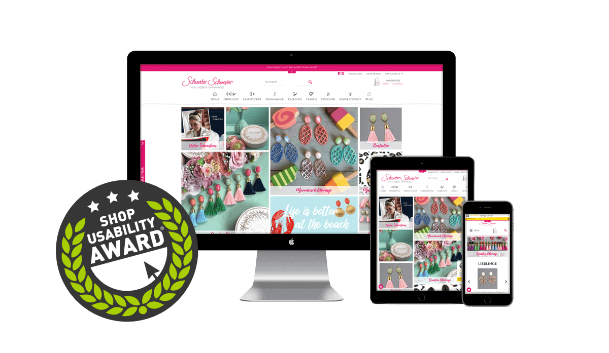 Schwester Schwester - Shop Usability Award